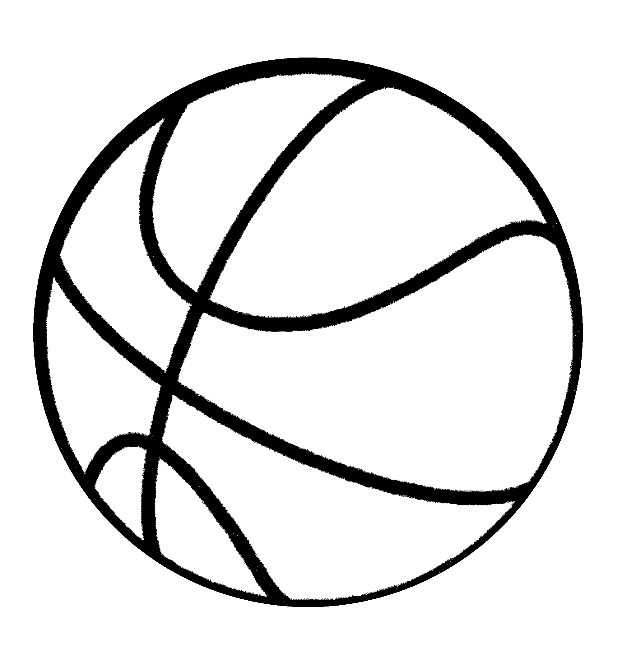 It is a photo of Modest Printable Basketball Court