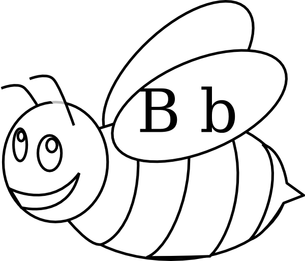 Bumble Bee Coloring Pages Clipart Best Bumble Bee Coloring Pages