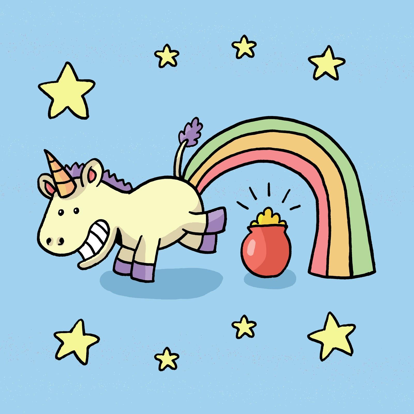 animated unicorn clipart - photo #48