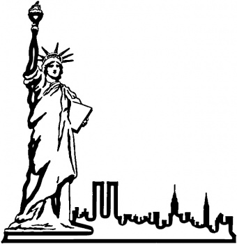 Statue Of Liberty Cartoon Drawing - ClipArt Best
