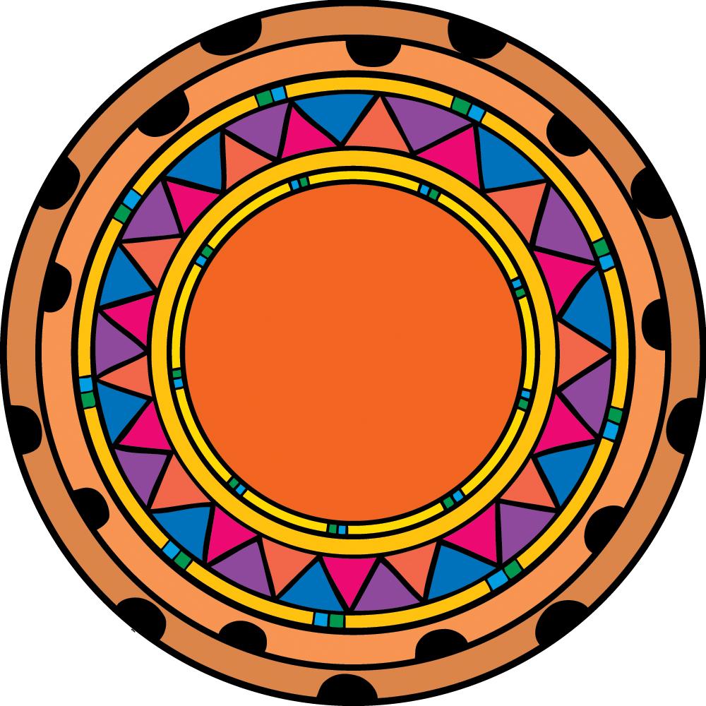 mayan symbols coloring pages - photo#27