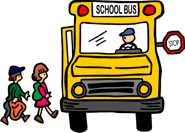 back to school bus clipart - photo #16