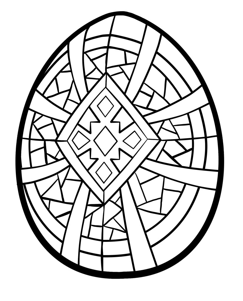 ukraine eggs coloring pages - photo#33