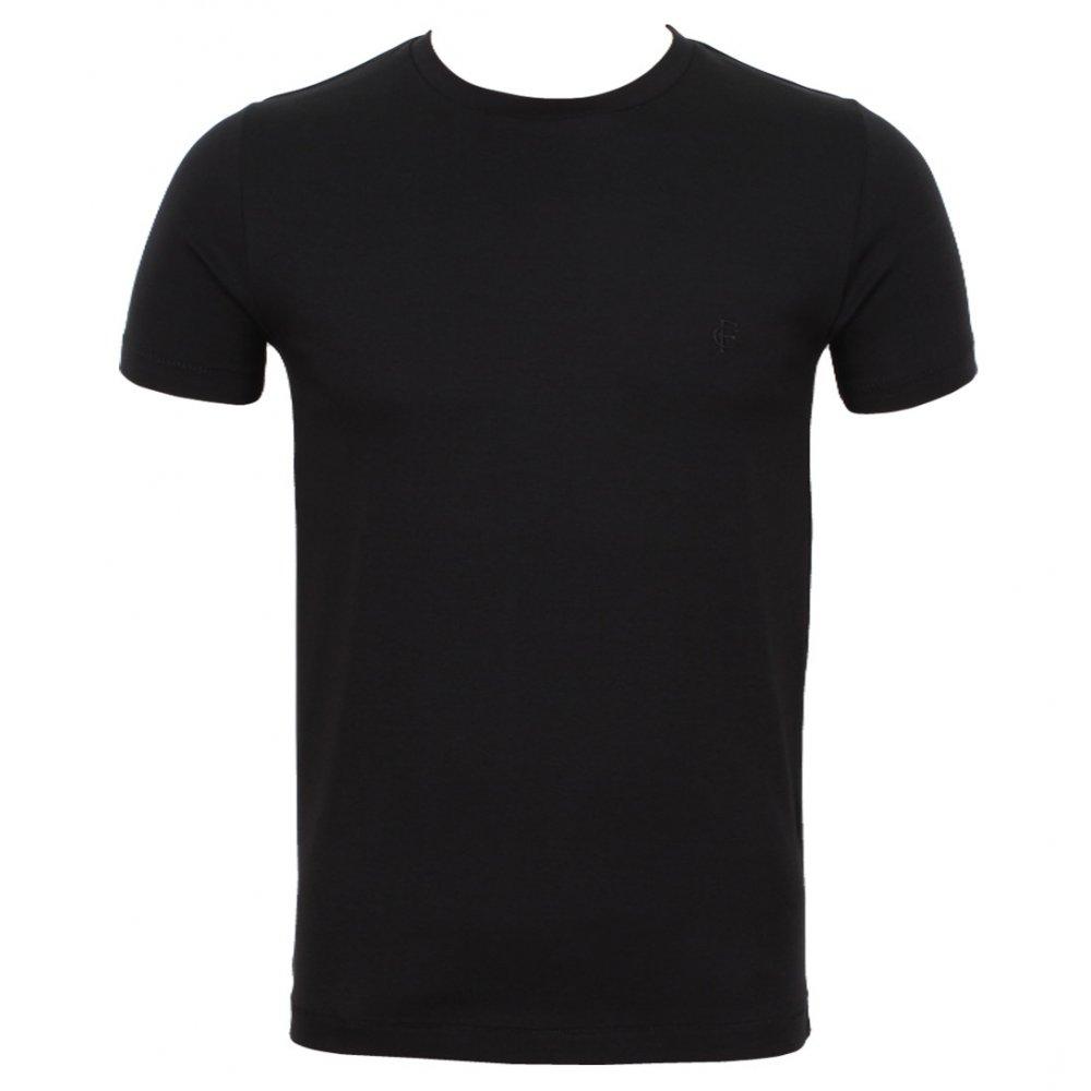 Plain Black T Shirt Mens