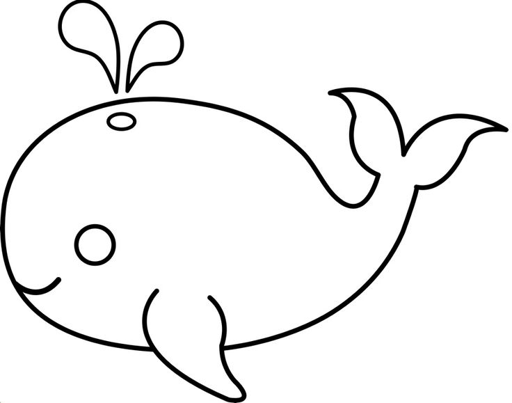Whale Template - ClipArt Best