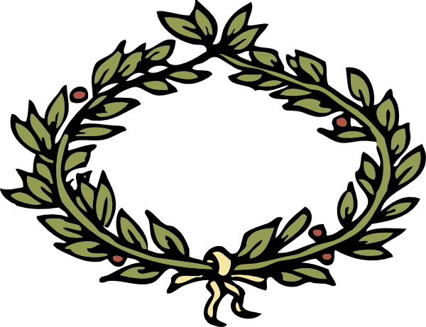Laurel leaf crown template clipart best for Laurel leaf crown template
