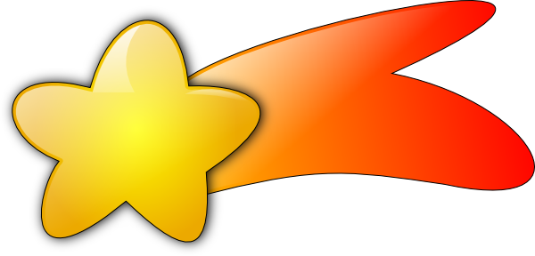 Shooting Star Clip Art Pictures - ClipArt Best - ClipArt Best