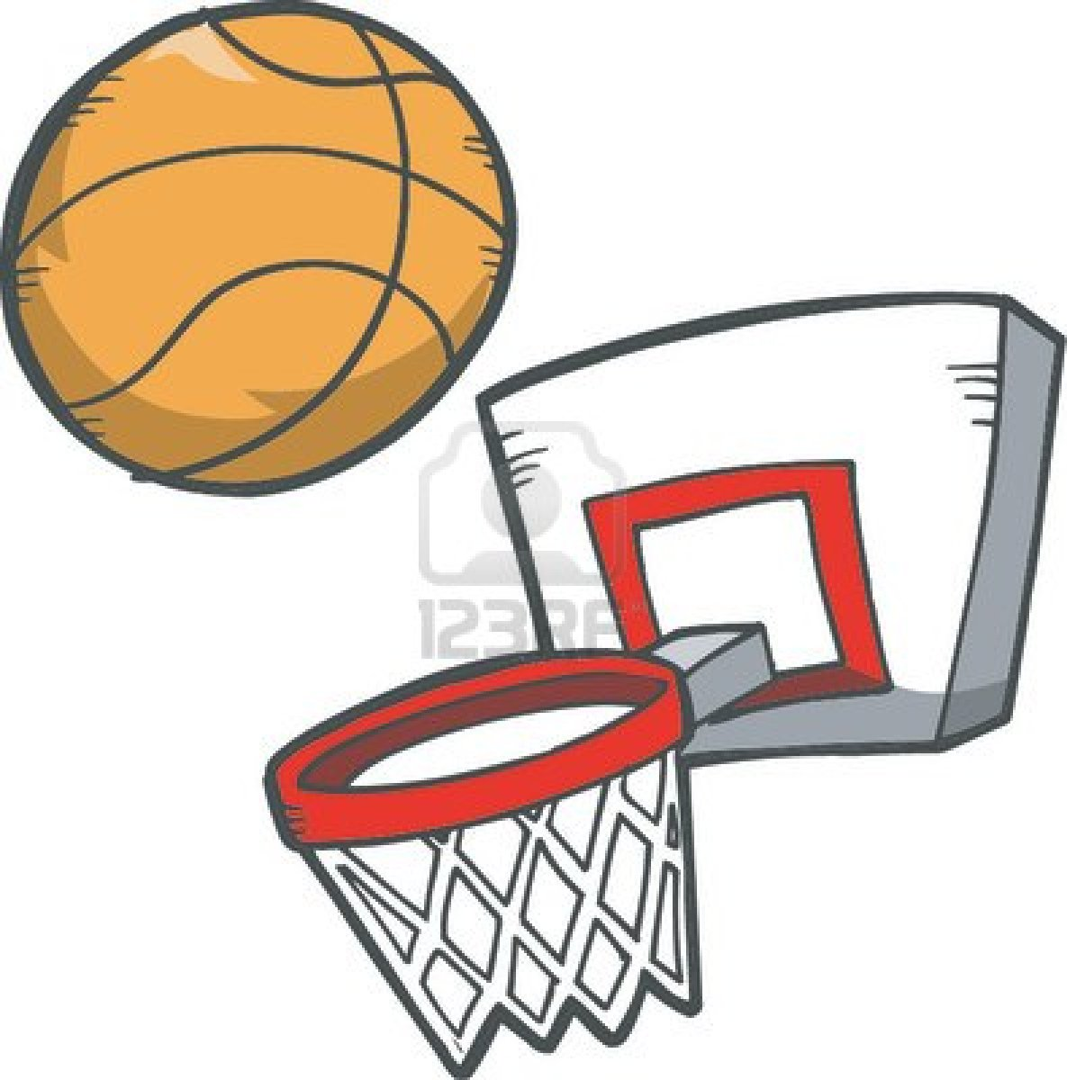 clip art images basketball - photo #31