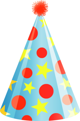 Colorful Party Hat - F...