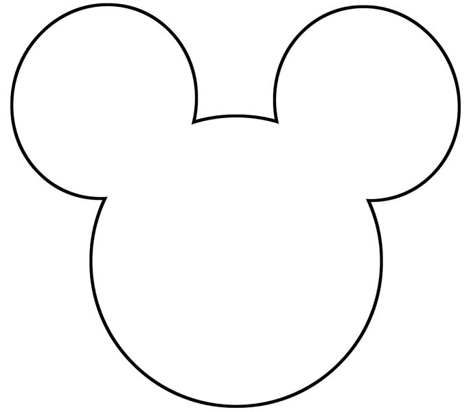 Mickey Mouse Template | Diy ...