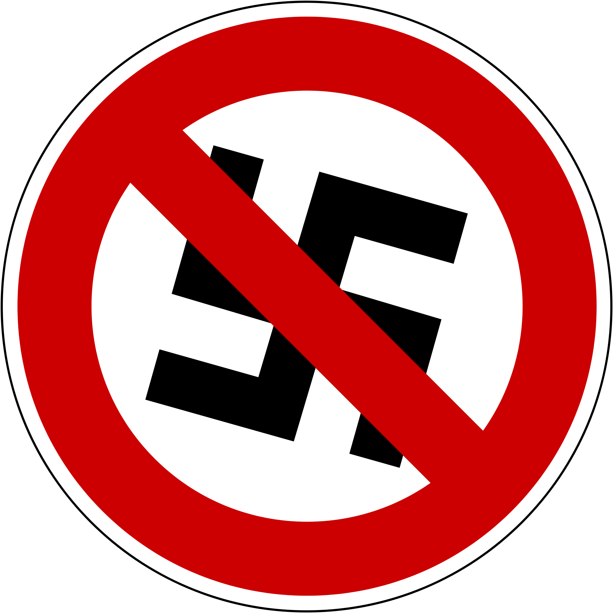Anti Nazi Symbol - ClipArt Best