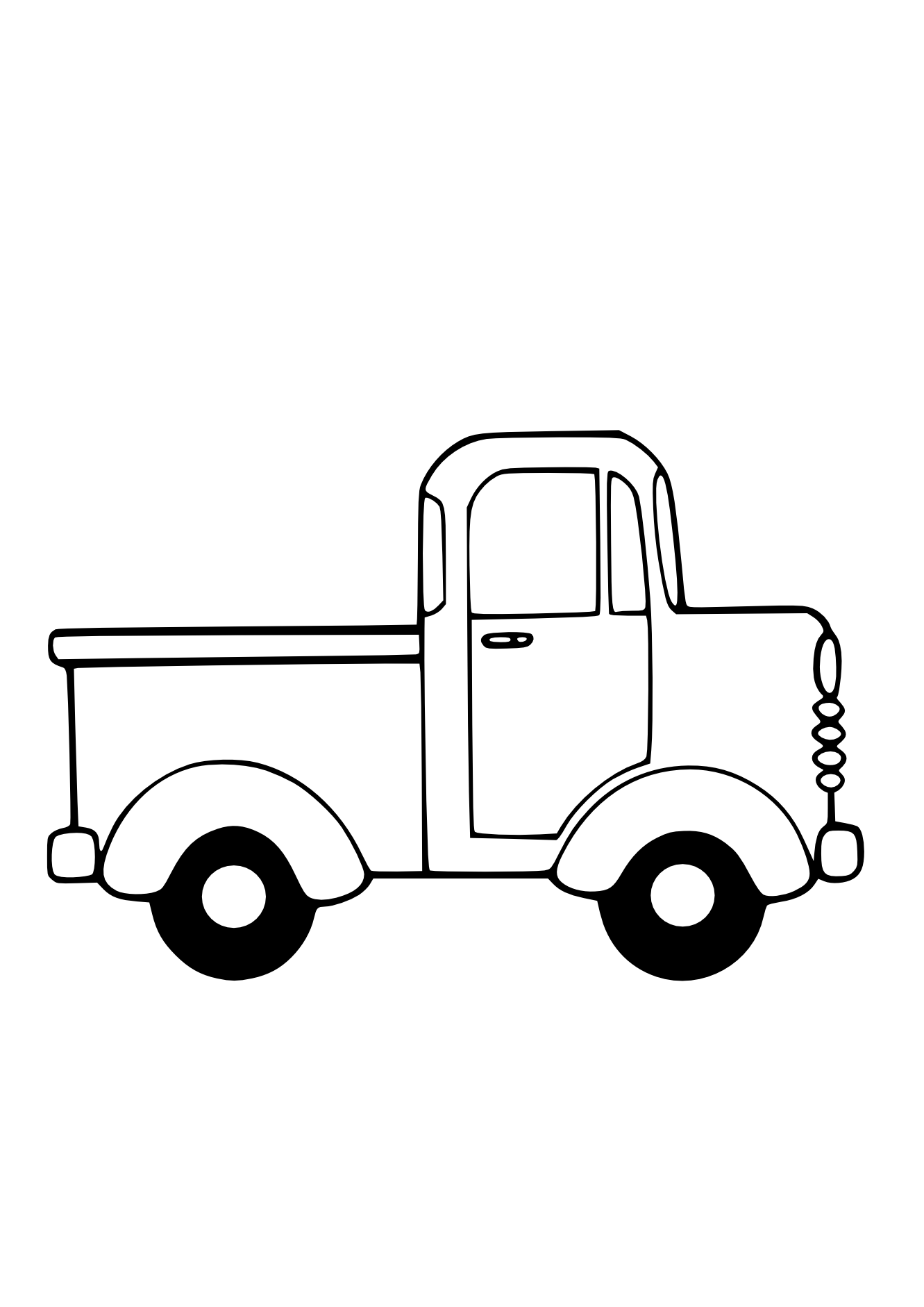 Car Clipart Black And White - Free Clipart Images