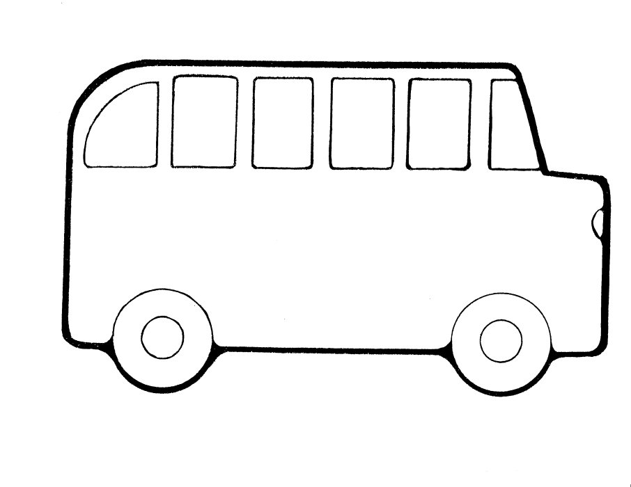 bus outline