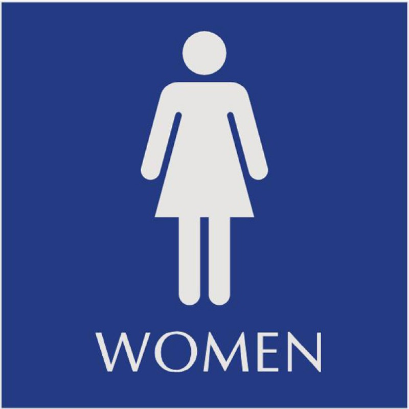 Basic Engraved Women s Restroom Signs   Naag Tag Inc. Women Restroom Signs   ClipArt Best