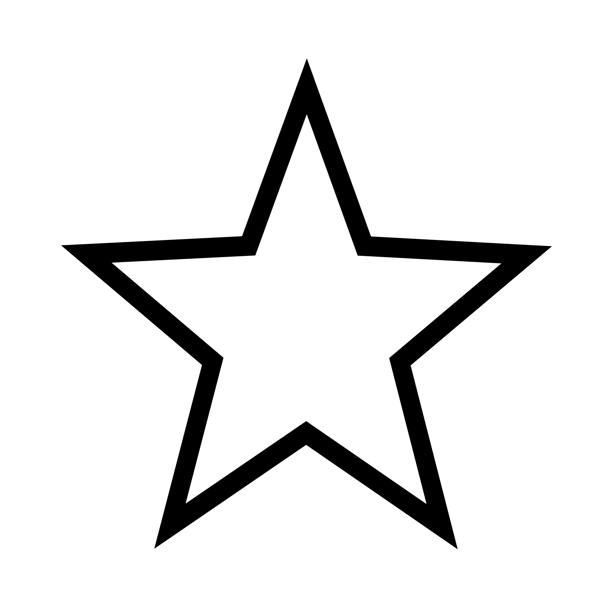 Transparent White Star - ClipArt Best