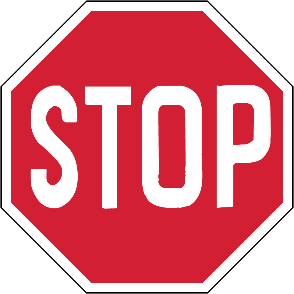 stop sign png clipart best