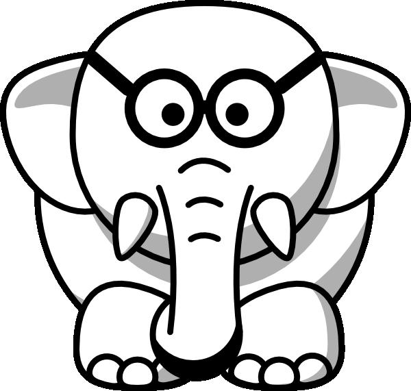 Line Drawing Elephant : Line drawing elephant clipart best