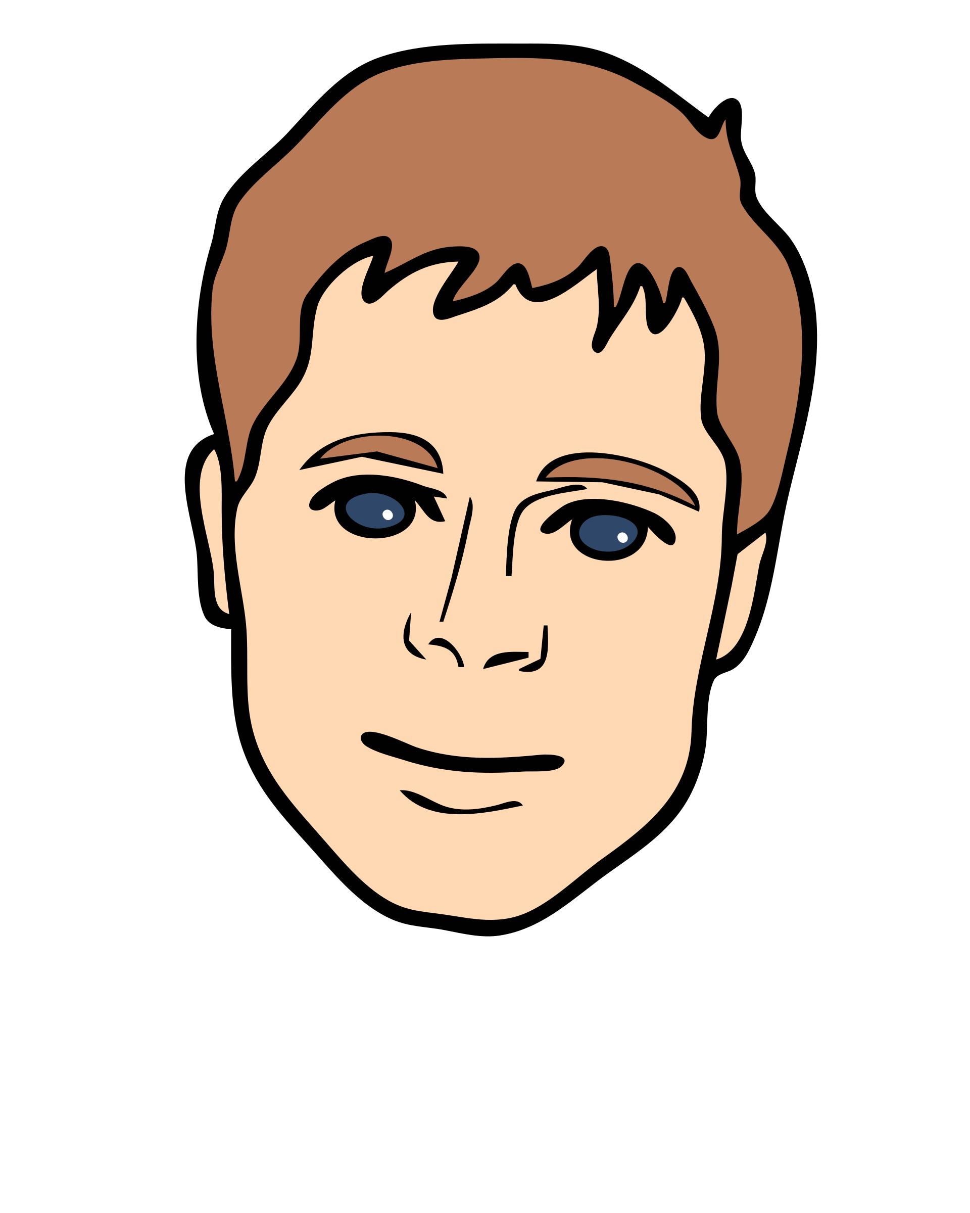 clipart human face - photo #26