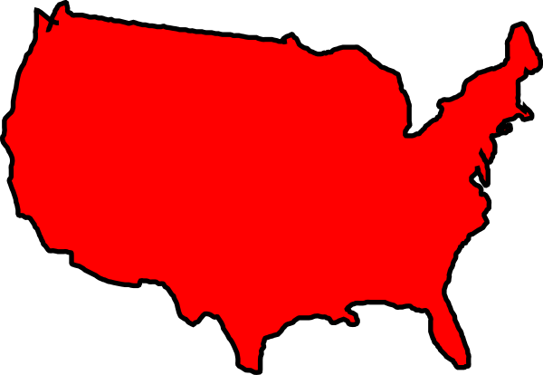 Outline Of United States ClipArt Best