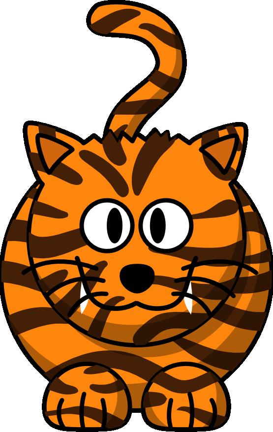 ... Cartoon Tiger Animal Xmas Christmas ... - ClipArt Best - ClipArt Best