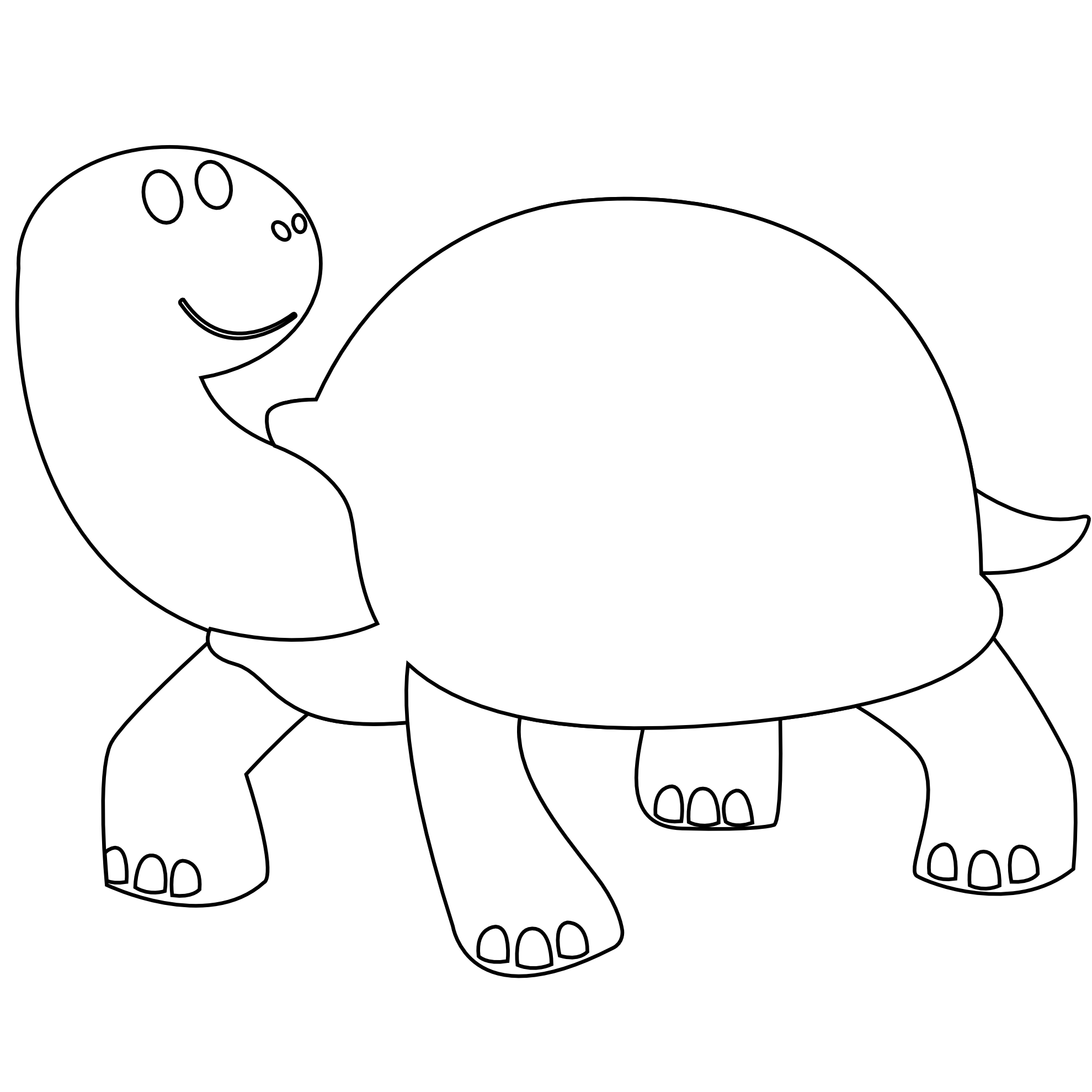 Black And White Line Drawings Of Animals : Line drawing animals clipart best