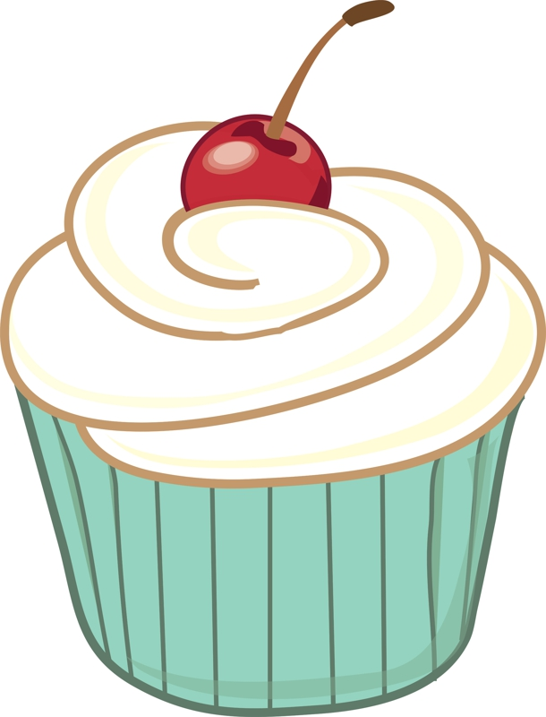 Cupcake Drawing Images : Free Cupcake Clipart Pictures And Printable Wrappers Cake ...