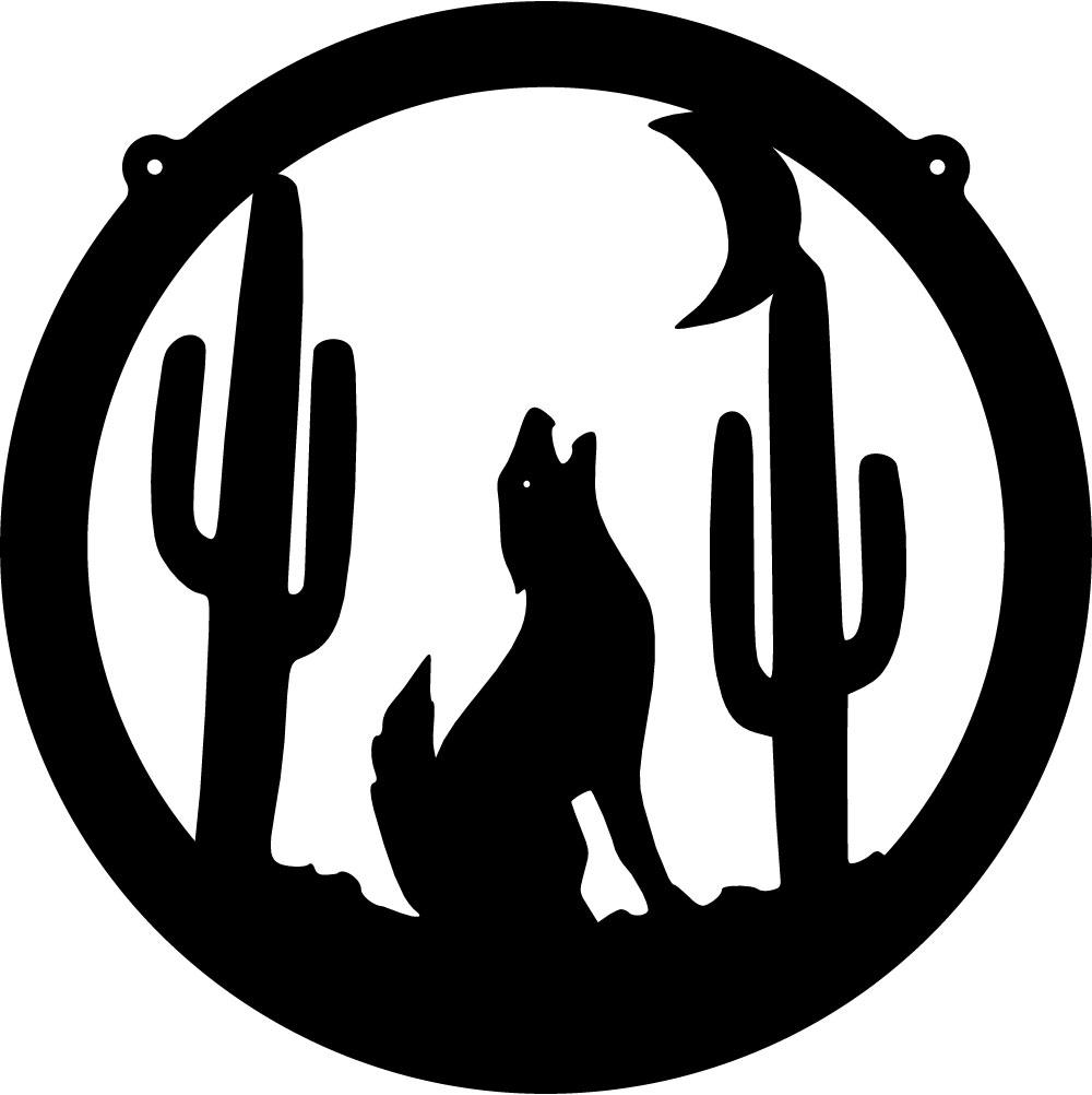 Wolf Howling Silhouette Wolf howling silhouette
