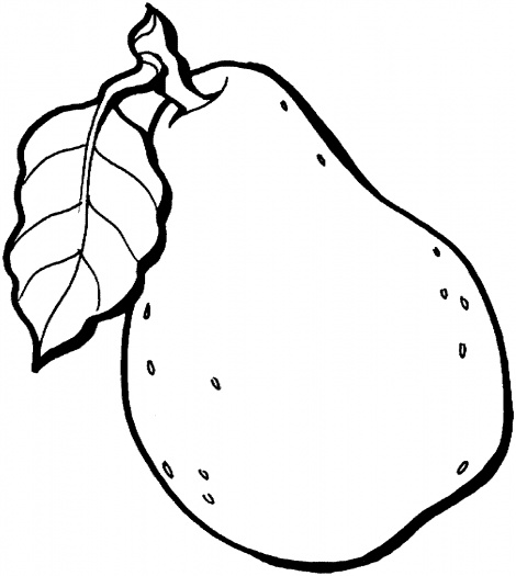 Pear Tree Coloring Page Pear 7 Coloring Page | Super