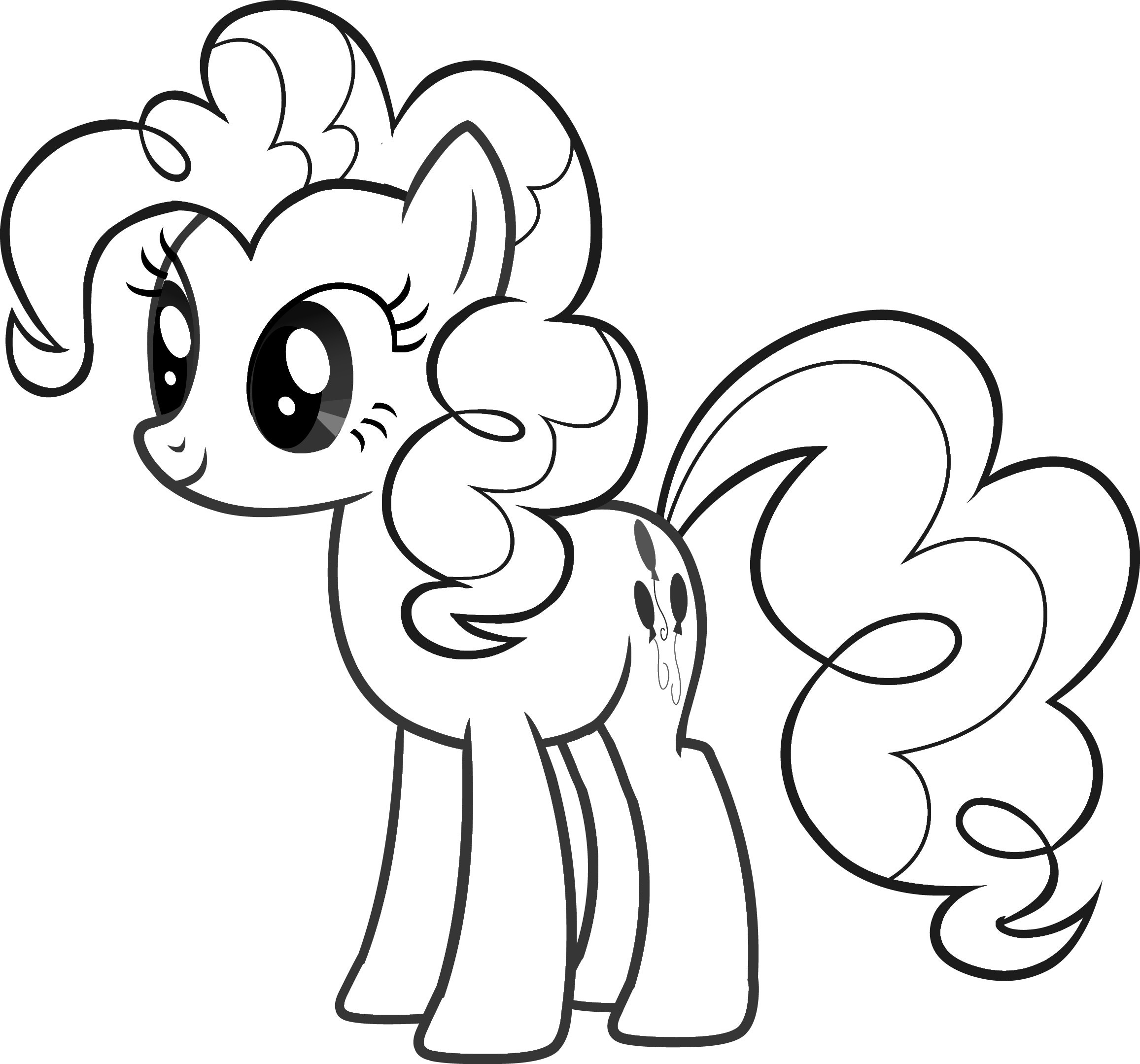 Free My Little Pony Pinkie Pie Coloring Page