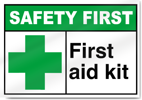 First Aid Kit Sign - ClipArt Best