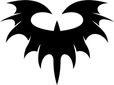 tribal batman symbol clipart best. Black Bedroom Furniture Sets. Home Design Ideas