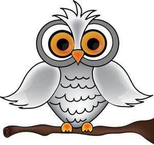 Owl Clipart Image - Cartoon White Owl - ClipArt Best ...