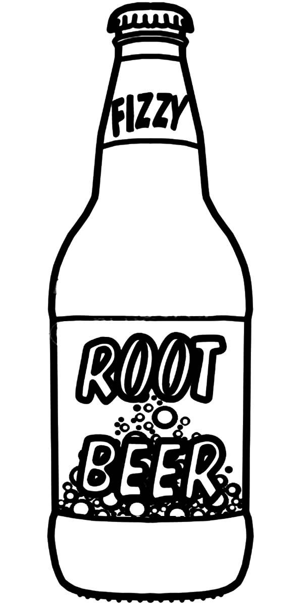 One Line Art Beer : Beer bottle drawing clipart best