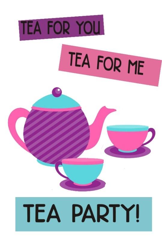 clipart tea party invitation - photo #23