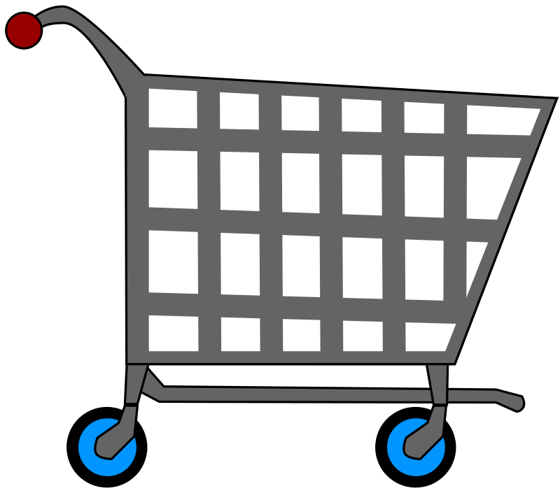 cartoon shopping trolley clipart best grocery cart clip art for kids grocery cart clipart