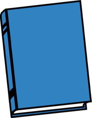 Picture of a book cartoon