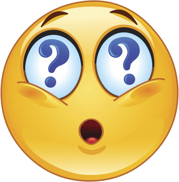 confused face cartoon clipart best
