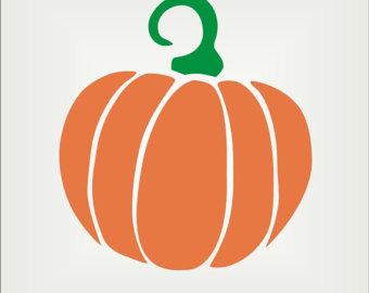 Orange fruit stencil clipart best for Fall pumpkin stencils