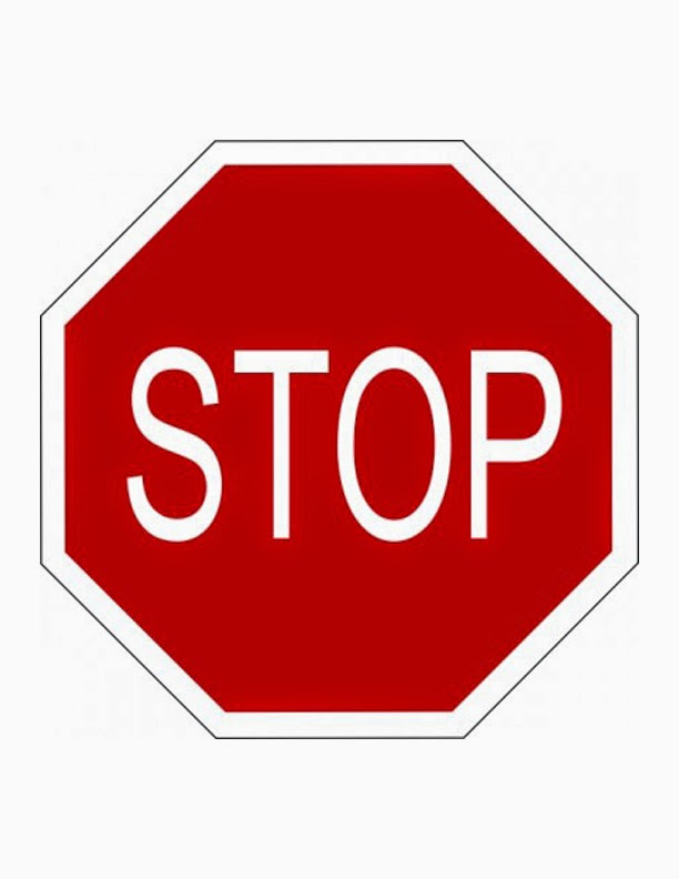 It is a photo of Légend Printable Picture of a Stop Sign