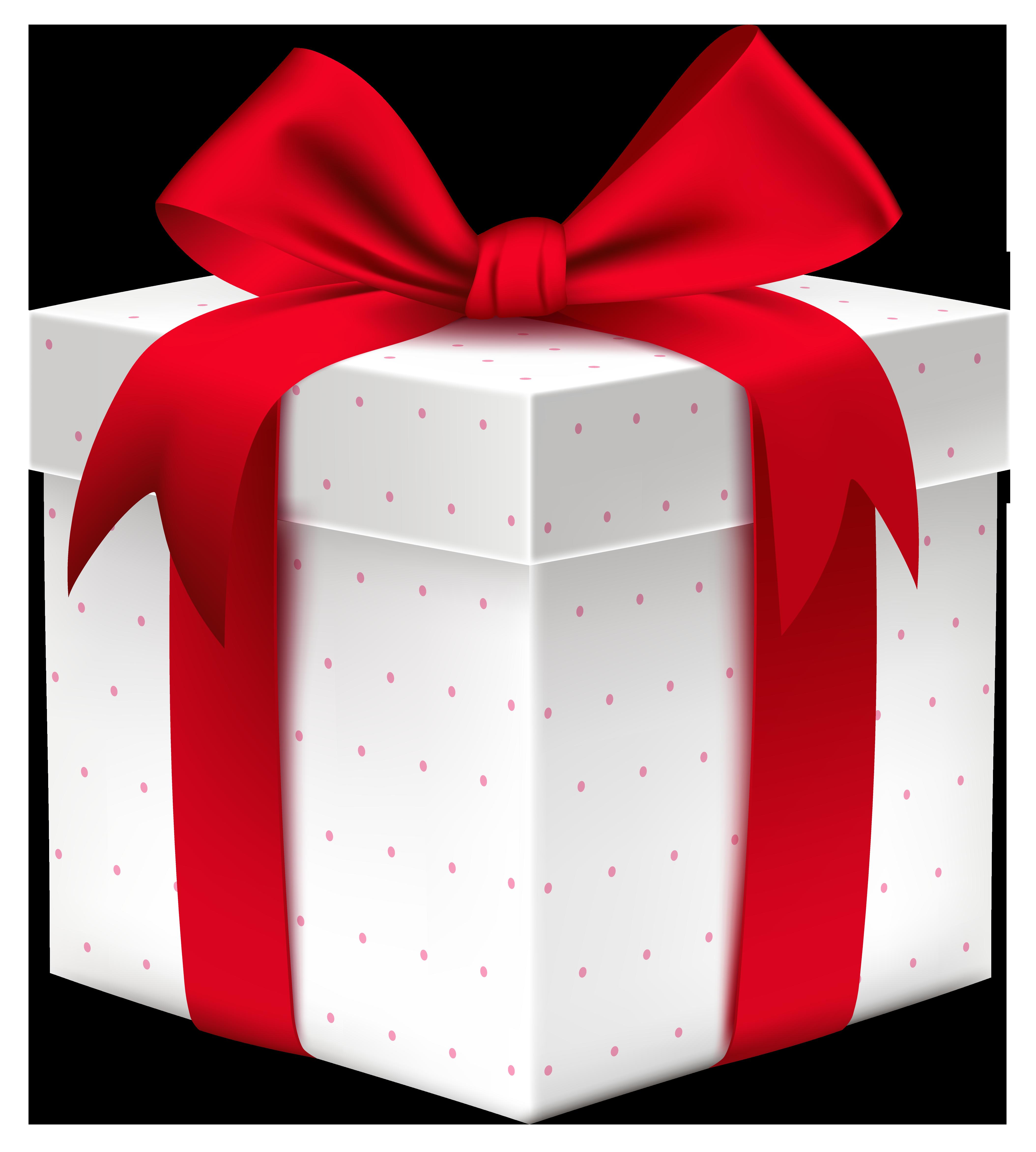 Коробка с подарком в png 365