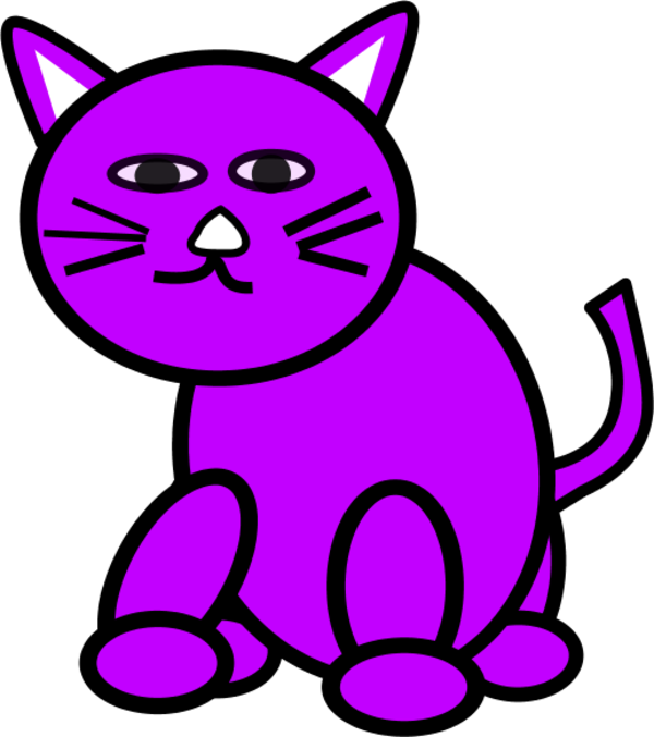 Pink Animated Cats