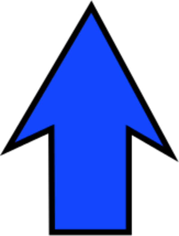 Free Clipart Arrow Pointing Up