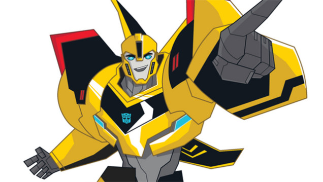 Transformers Animated Bumblebee - ClipArt Best