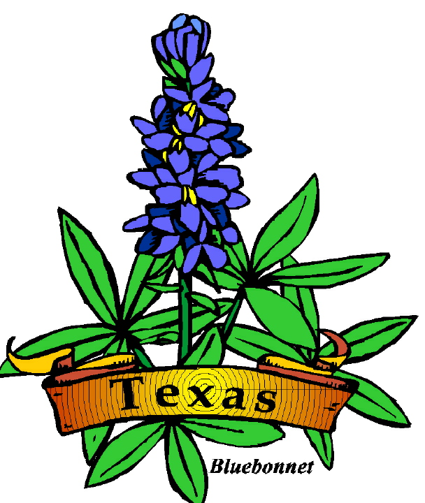 Texas Symbols Clipart Best