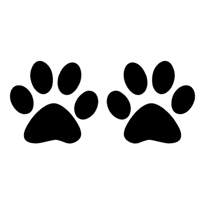 Picture Of Cat Paw Print Clipart Best