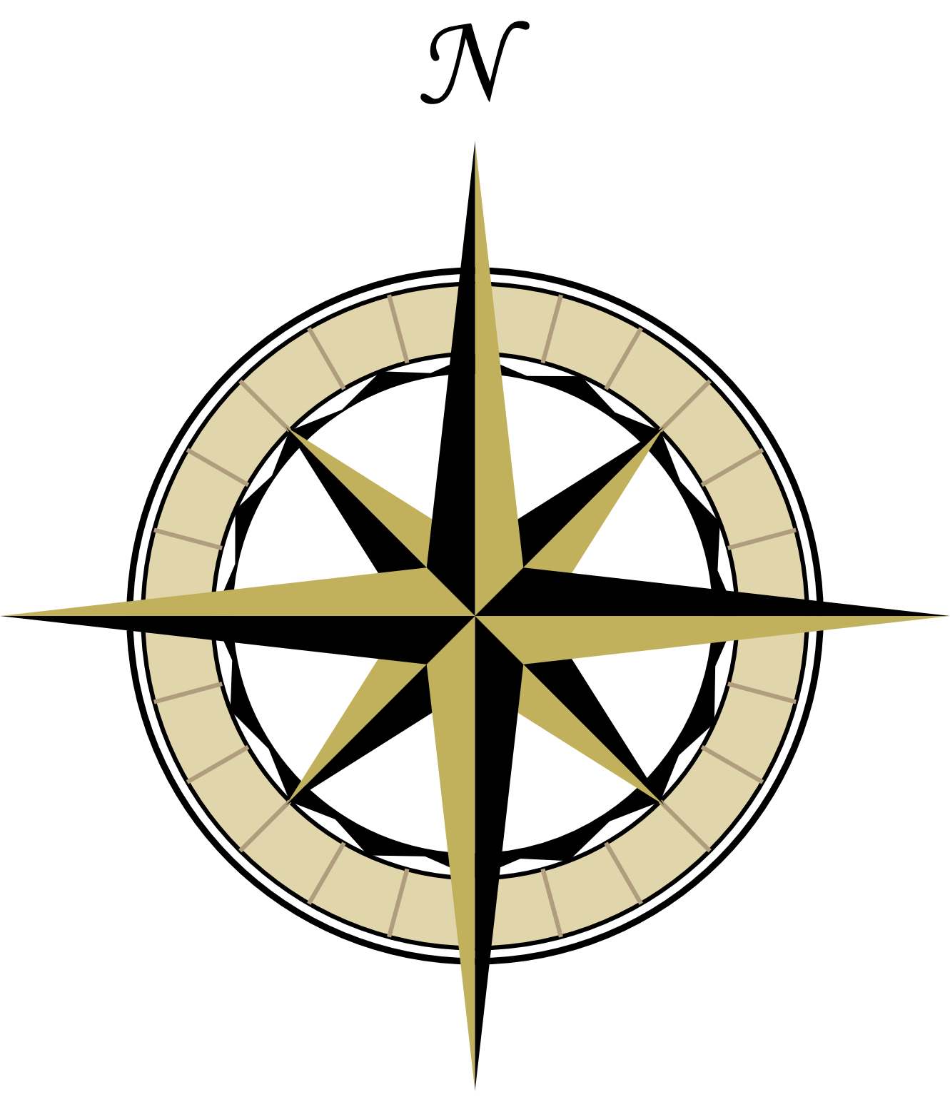 Compass Pointing East Tattoo Images Of Compass Rose...