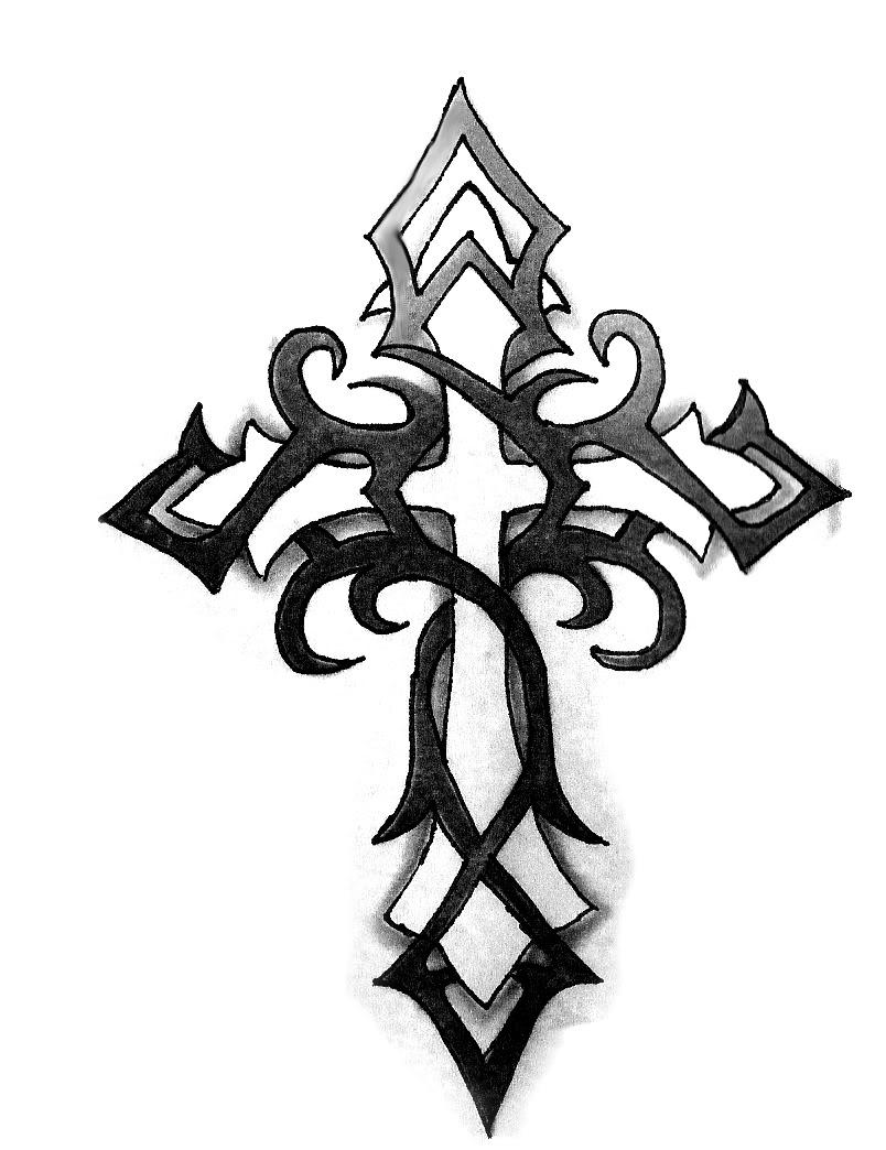 tribal cross wallpaper tattoo design bild clipart best