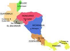Mapa Centro America - ClipArt Best