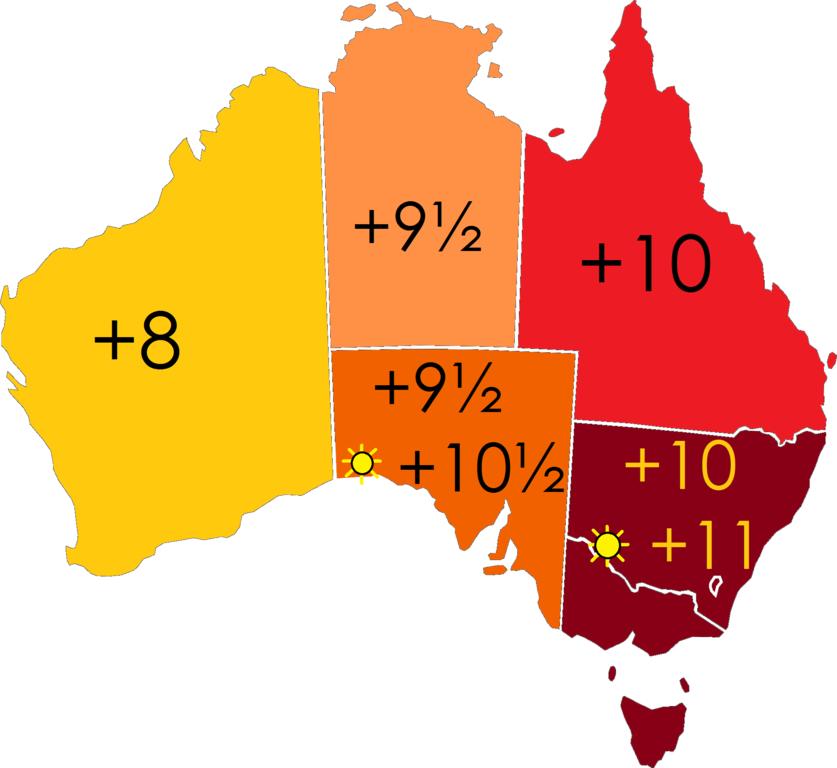 Australia-states-timezones.png - ClipArt Best - ClipArt Best