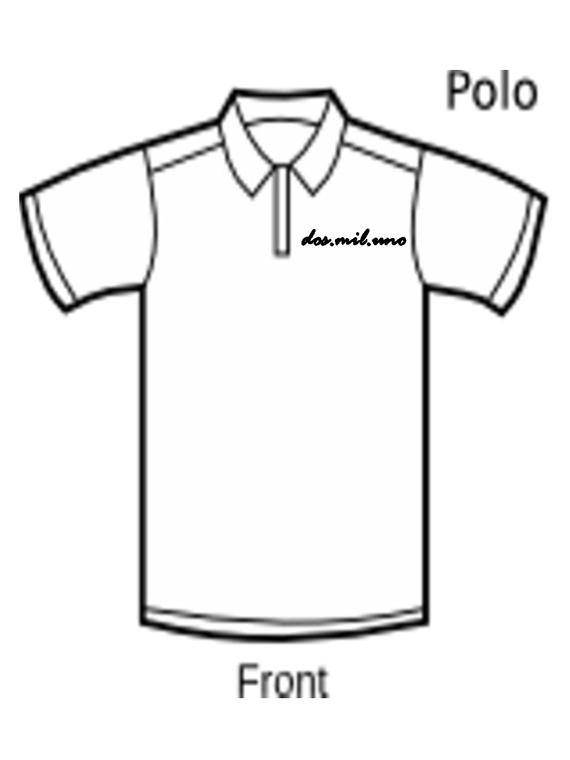 Polo shirt design template clipart best for Polo shirt design template